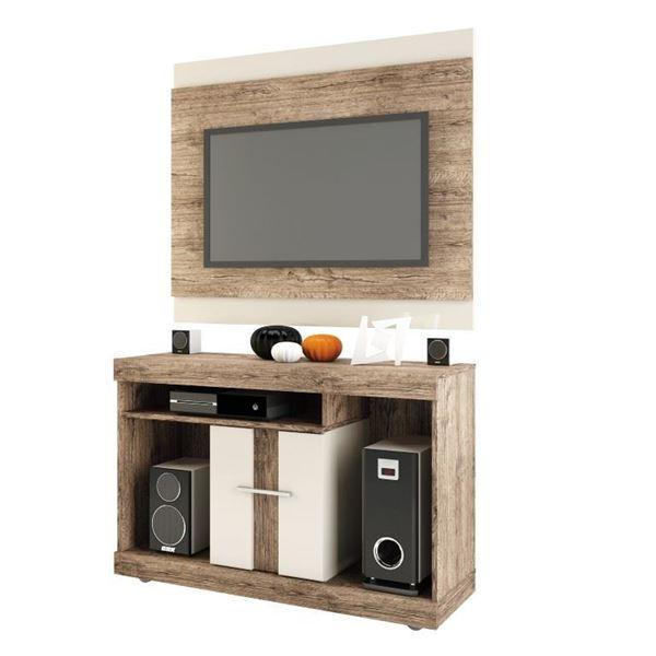 Picture of Rack Mesa de Tv SAN DIEGO c/Panel Natural/beige