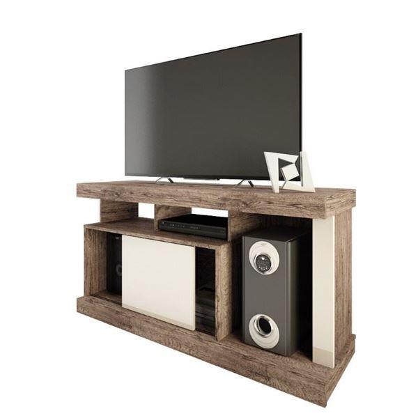 Picture of Rack Mesa de Tv Quartzo Natural/Beige