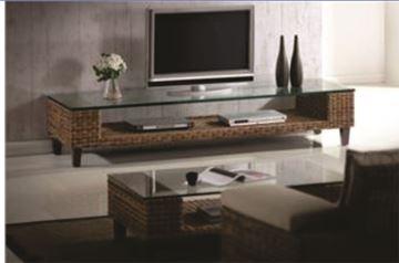 Imagen de Rack Mesa de Tv Lantana 202-18 Rattan y Madera Maciza