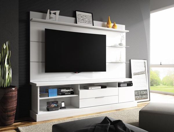 Picture of Home Theater Rack de Tv MONTANA Blanco