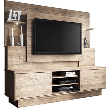 Imagen de Home Theater Rack para Tv ARON SMART Natural