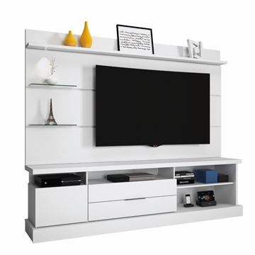 Imagen de Home Theater Rack de Tv MONTANA Blanco