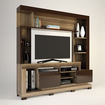 Imagen de Home Theater Rack para Tv THALIA Capuchino/Café