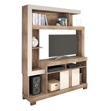 Imagen de Home Theater Rack de Tv LIZ Natural/Beige