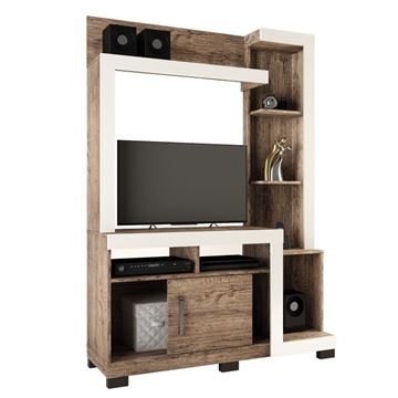 Imagen de Home Theater Rack de Tv ISA Natural/Beige