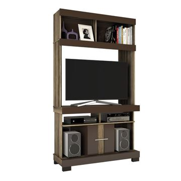 Imagen de Home Theater Rack de Tv JADE Capuchino/Café