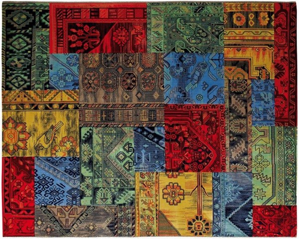 Picture of ALFOMBRA PATCHWORK 04/25 1.50 x 2.00