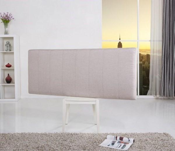 Picture of Respaldo N2 Tapizado en Tela 1.90m Café